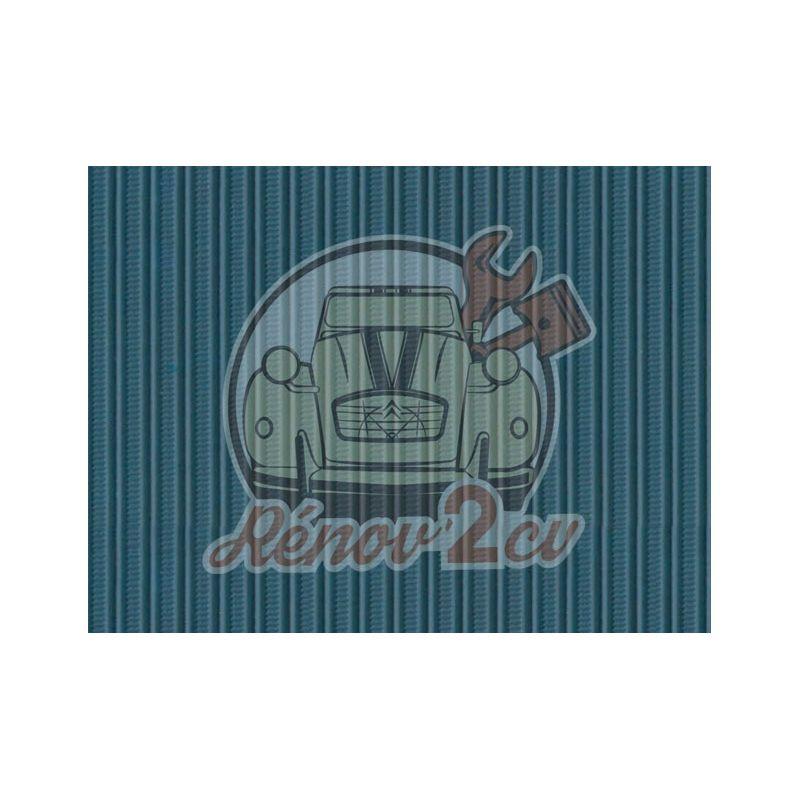 Cappotta 2cv blu azurite tela rinforzata