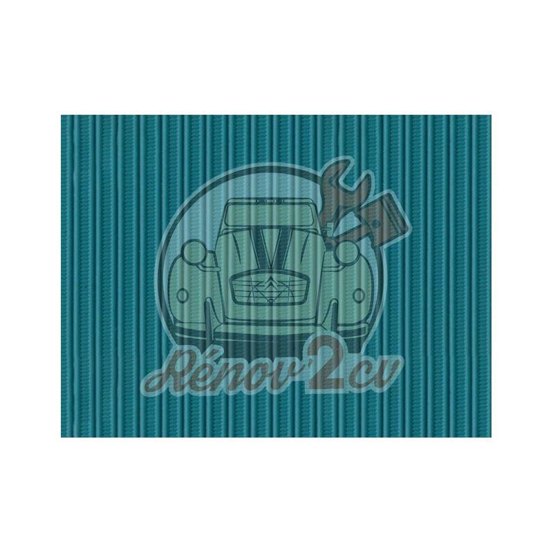 Cappotta 2cv blu lagune tela rinforzata