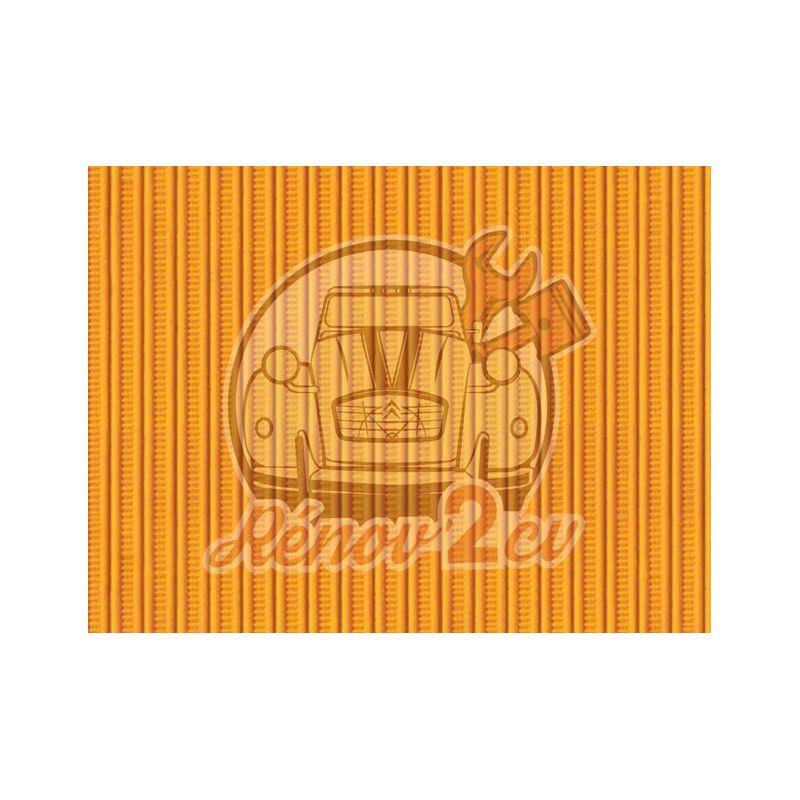 Cappotta 2cv giallo mimosa tela rinforzata