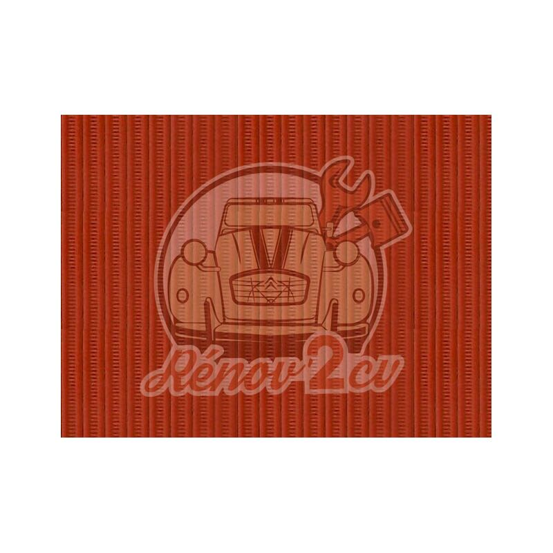 Cappotta 2cv arancione tela rinforzata