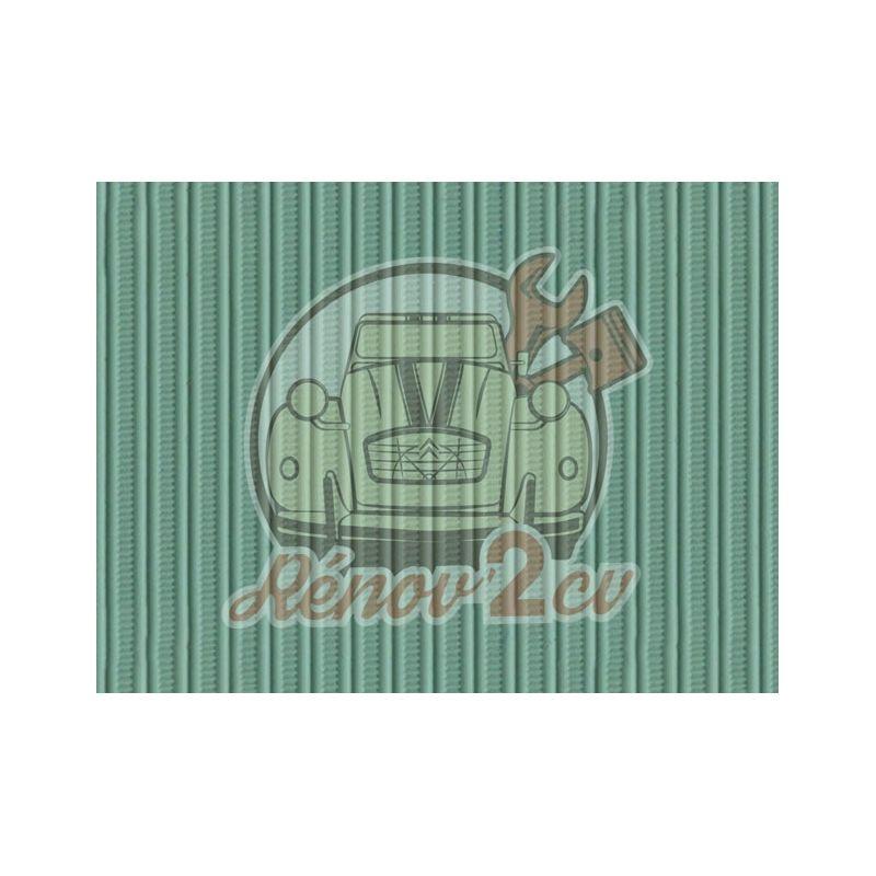 Capote 2cv gros grain vert jade toile renforcee