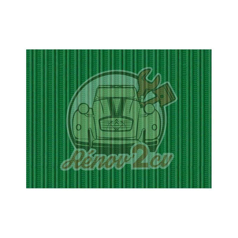 Cappotta 2cv verde tuilerie tela rinforzata