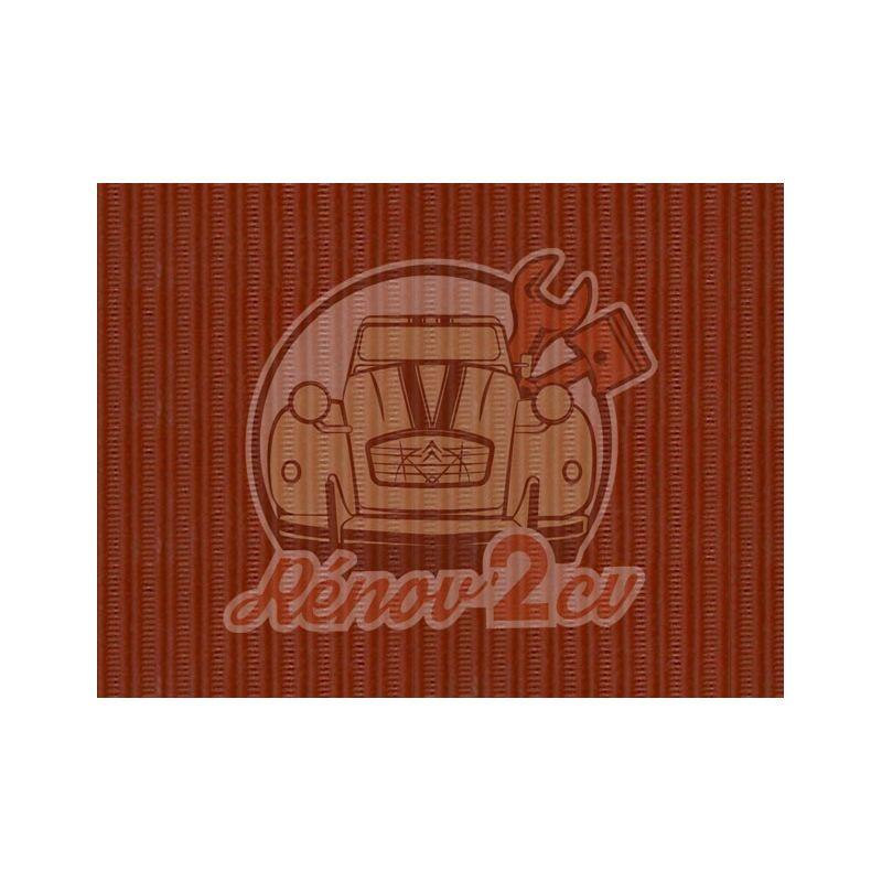 Capote 2cv gros grain cuivre indien toile renforcee