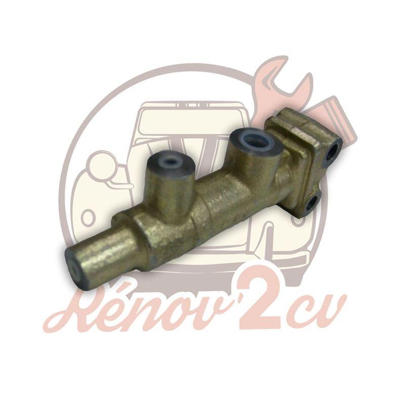 Master cylinder single circuit 2 ouputs m8x125