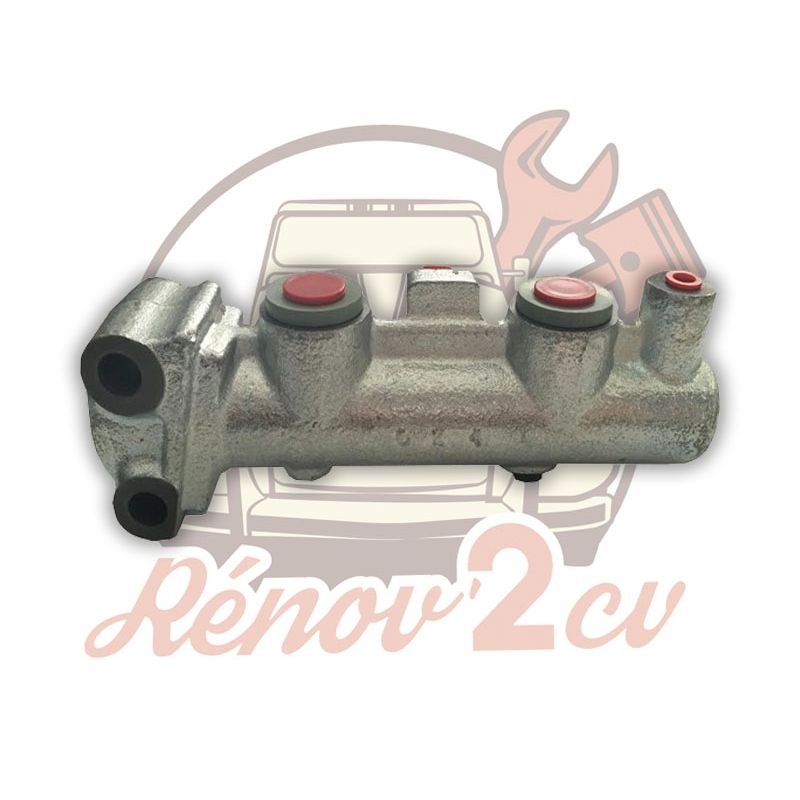 Master cylinder dual circuit m8x125 lhm