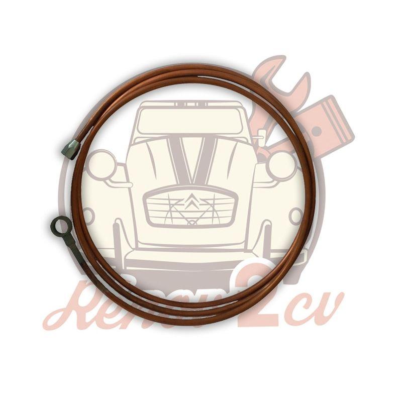 Tubo freno pompa freno/distributore posteriore banjo 6.35mm