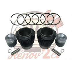 Set of pistons and sleeves 602cc