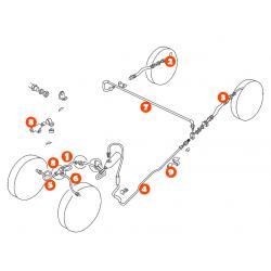 SYSTEME DE FREINAGE RACCORD M9