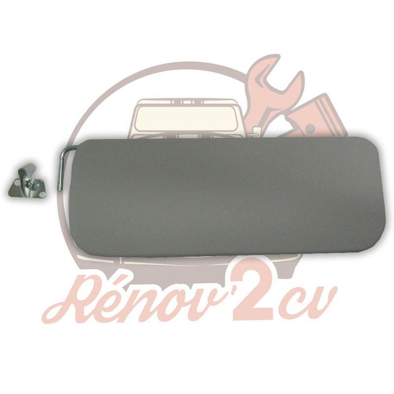 Grey sun visor driver side 2cv