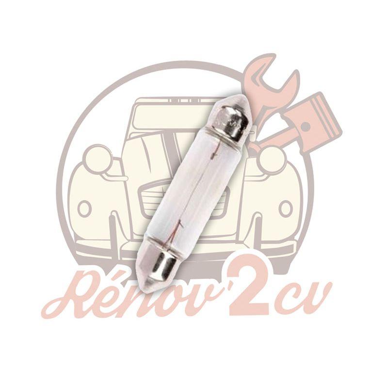 Festoon light bulb 6 volts 5w