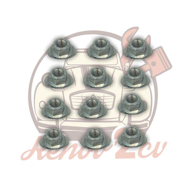 Ecrou de roue lot de 12 pieces