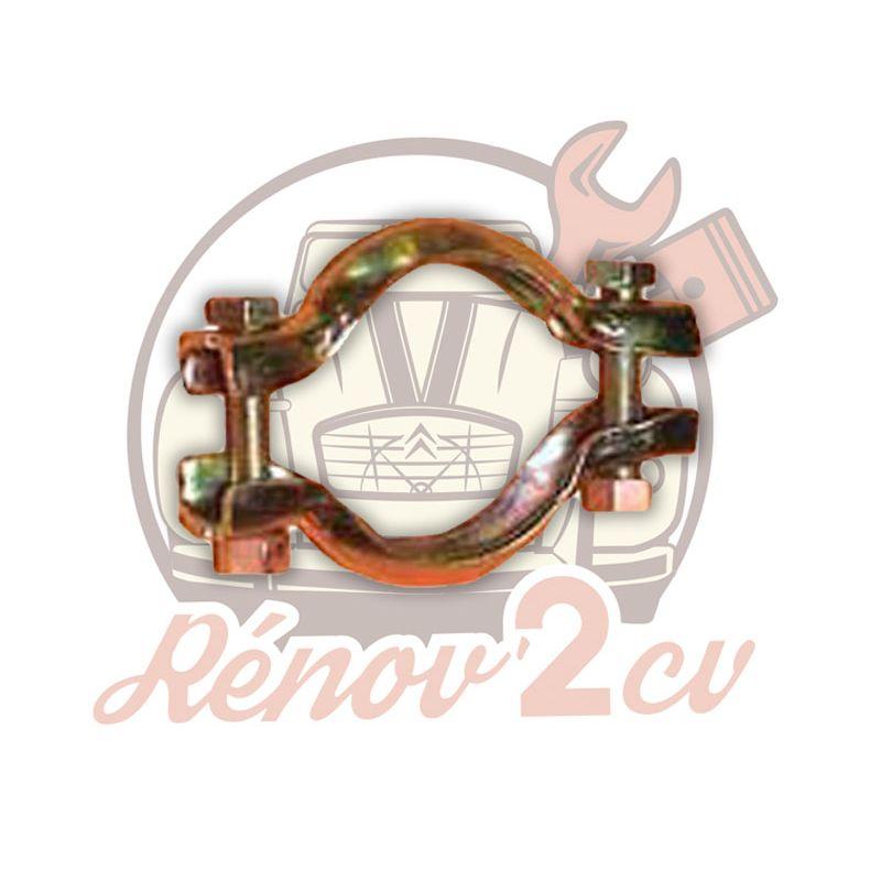 Exhaust fixing clamp 2cv 49mm