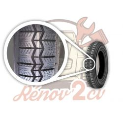 Michelin tyre 125r 400 2cv...