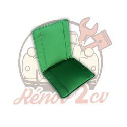 Green rear bayadere seat...