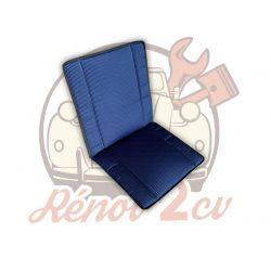 Blue rear bayadere seat...