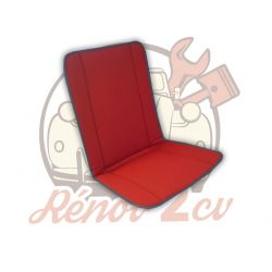 Red front bayadere seat...
