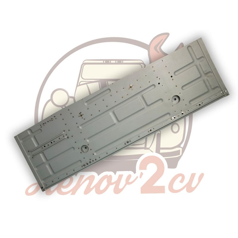 Plancher lateral 2cv / dyane gauche electrozingue apres 1970