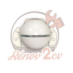 White gearlever knob with...