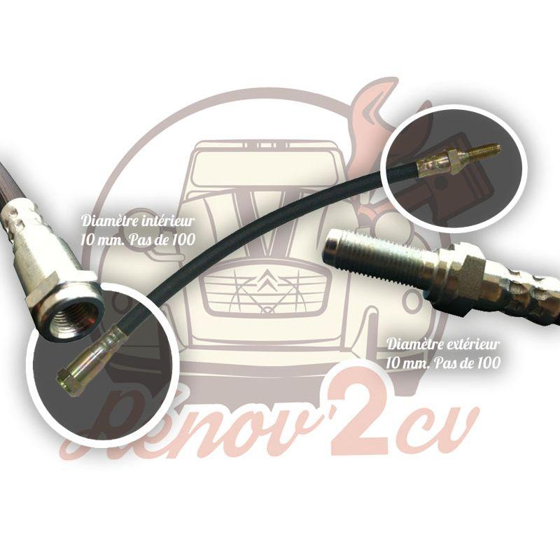 Flexible de frein arriere ancien modele jusqu'a 1964