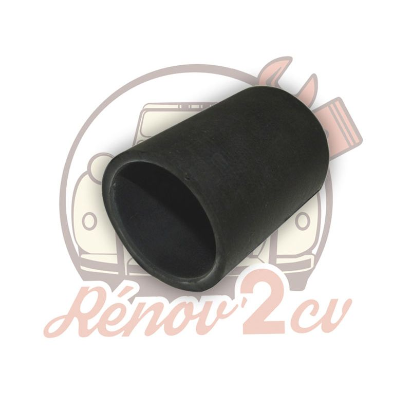 Connecting rubber for steel fuel tank