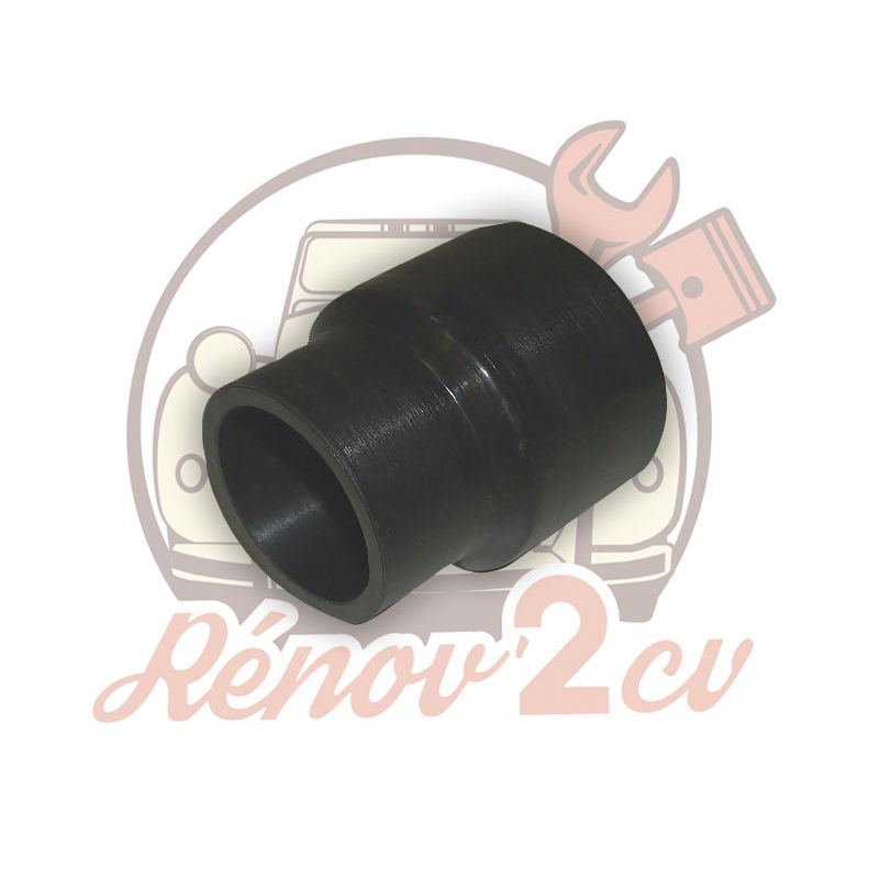 Connecting rubber for plastic fuel tank