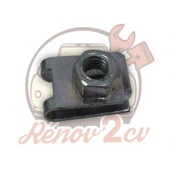 Ecrou clips M7 2cv mehari dyane acadiane
