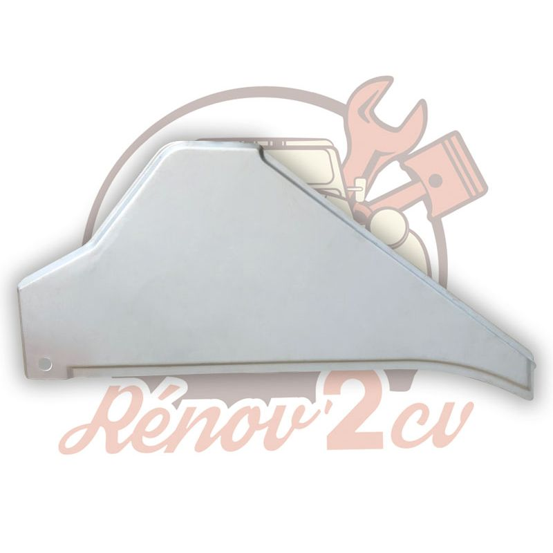 Sheet metal lateral 2cv and ak left