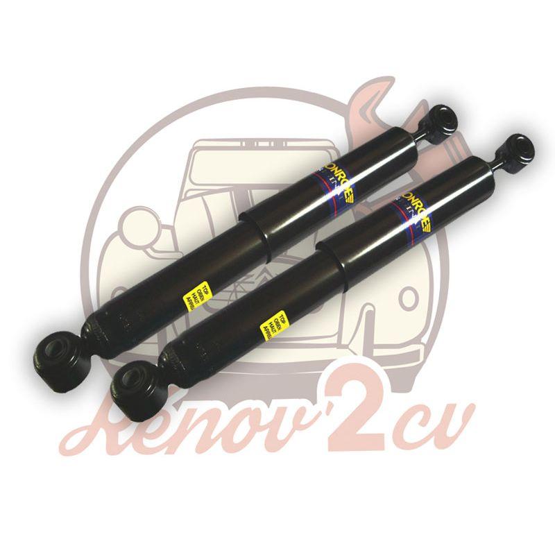 Pair of rear shock absorber 2cv mehari dyane monroe