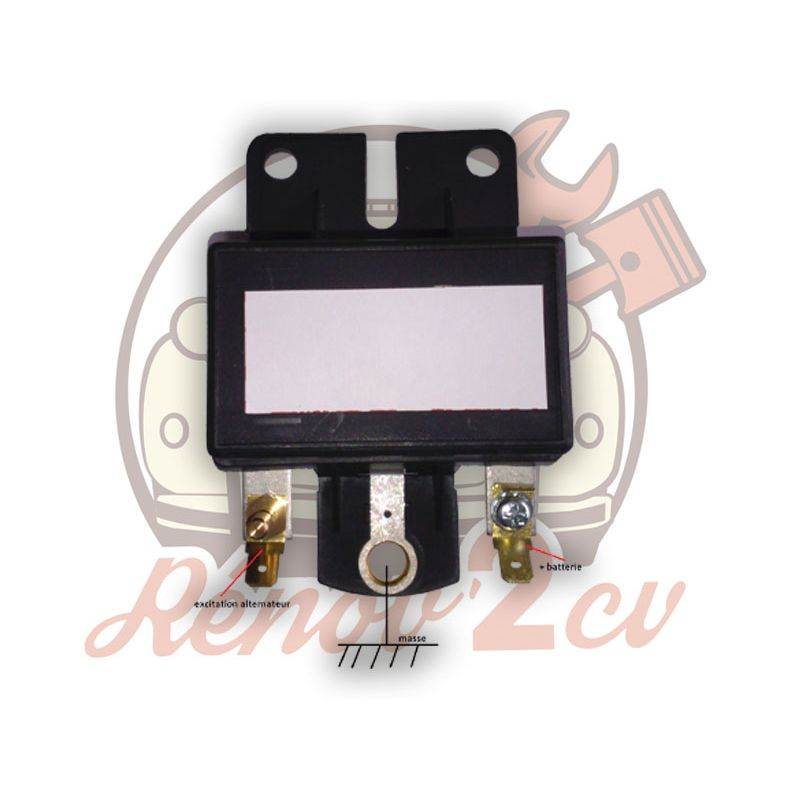 Regulateur de charge 2cv mehari 12 volts