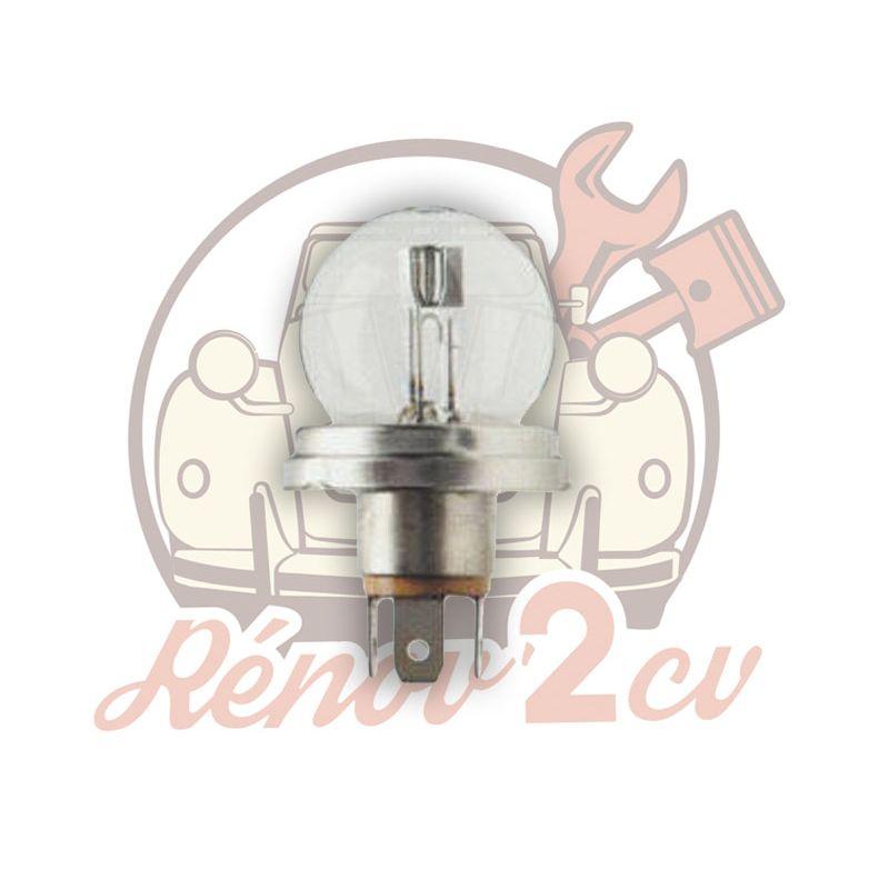 White headlight bulb 6 volts 45/40w EC
