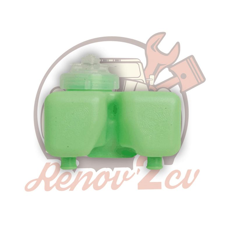 Vaschetta liquido freni per pompa freno doppio circuito 2cv