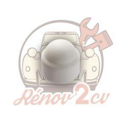 Wheel nut cover white 2cv...