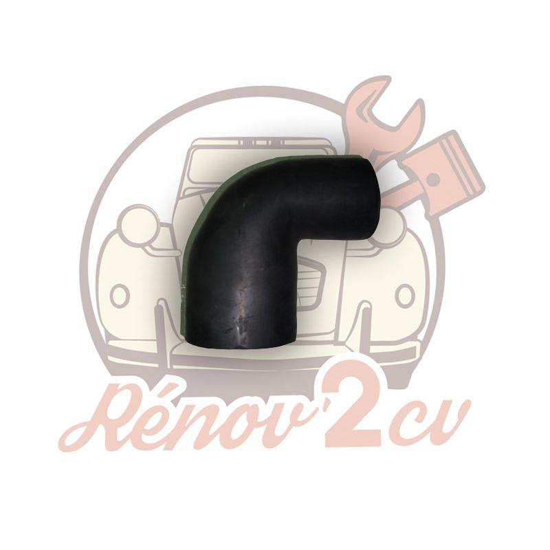 Rubber pipe for double-barrel carburetor mehari dyane acadiane