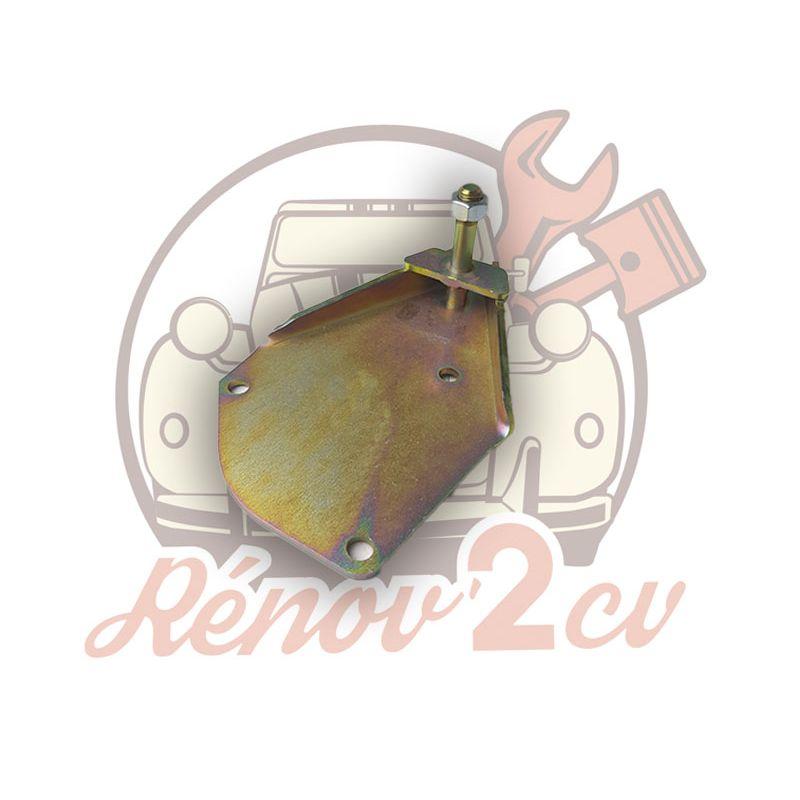 Plaque support amortisseur avant droite 2cv mehari dyane