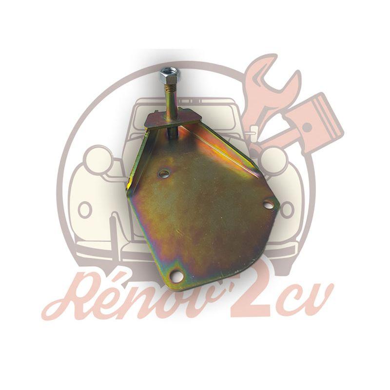 Plaque support amortisseur avant gauche 2cv mehari dyane