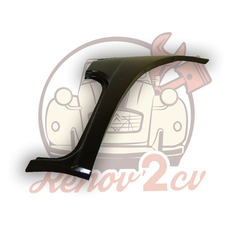 Repair sheet metal 2cv for left rear quarter panel