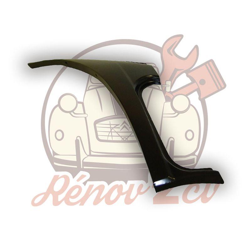 Repair sheet metal 2cv for right rear quarter panel