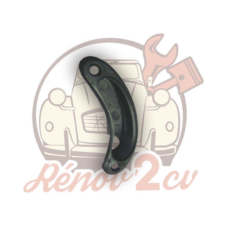 Black embellisher for left handle 2cv