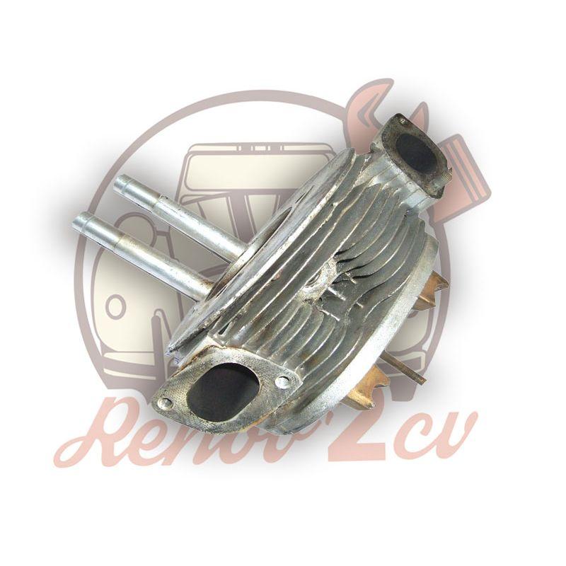 Culasse gauche 2cv 602cc Echange Standard Alésage 74mm sans culbuteurs