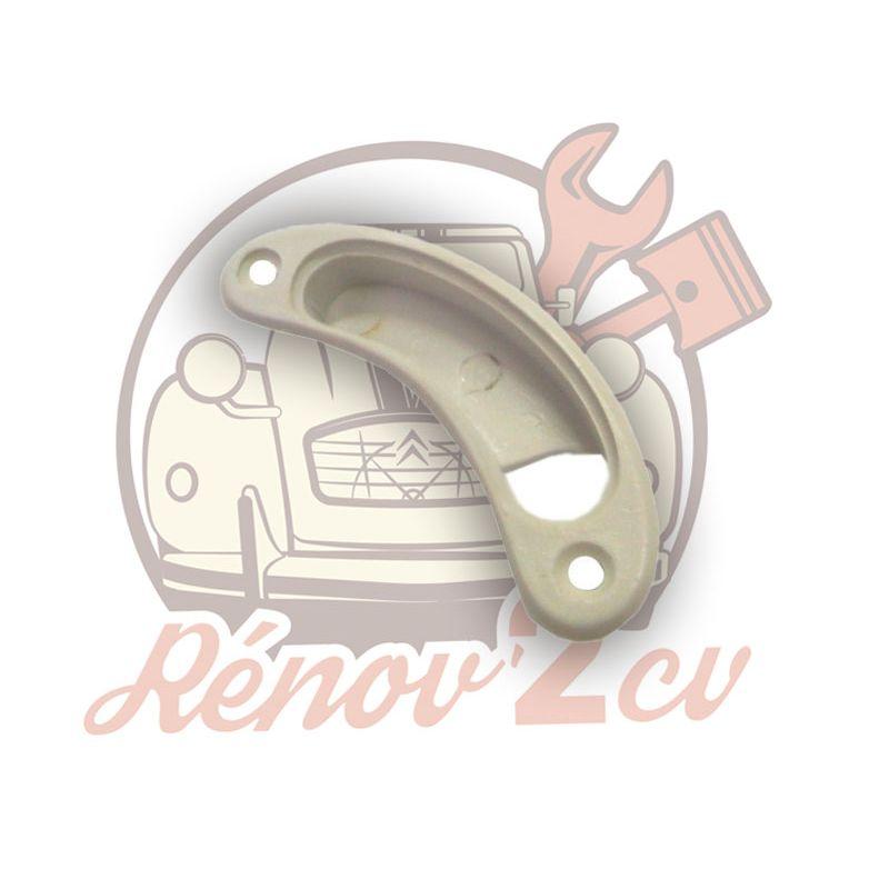 Grey embellisher for left handle 2cv