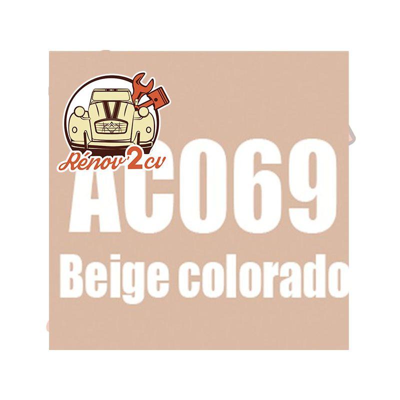 kit peinture 2cv ac 069 (edb gdb) beige colorado 1.3 kilos