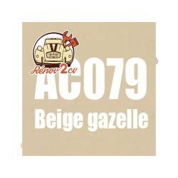 kit peinture 2cv ac 079 beige gazelle 1.3 kilos