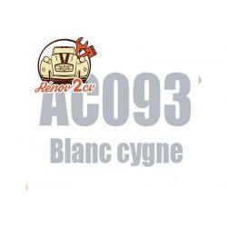 kit peinture 2cv ac 093 blanc cygne 1.3 kilos