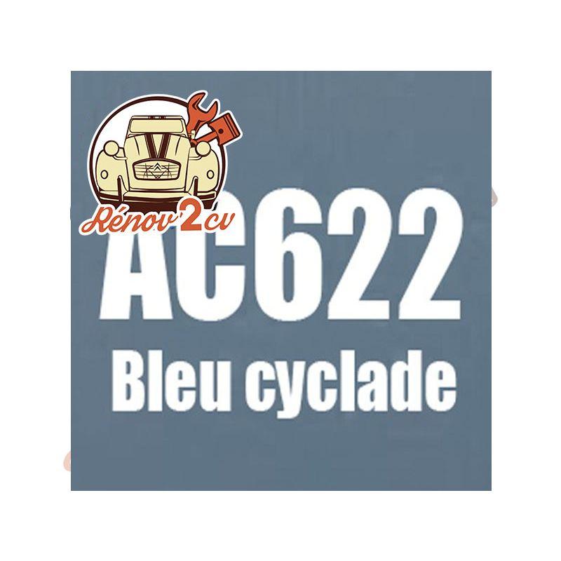 kit peinture 2cv ac bleu cyclade ac 622 1.3 kilos