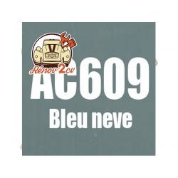 kit peinture 2cv ac bleu neve ac 609 1.3 kilos