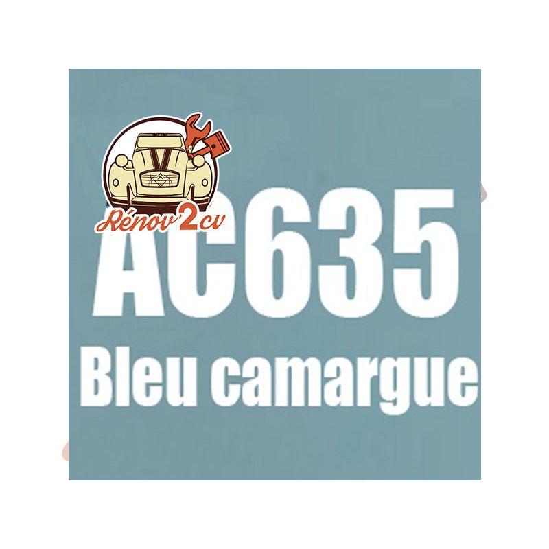 kit peinture 2cv ac bleu camargue ac 635 1.3 kilos