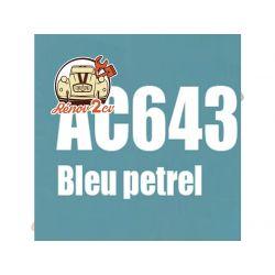 kit peinture 2cv ac bleu petrel ac 643 1.3 kilos