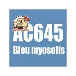 kit peinture 2cv ac bleu myosotis ac 645 1.3 kilos