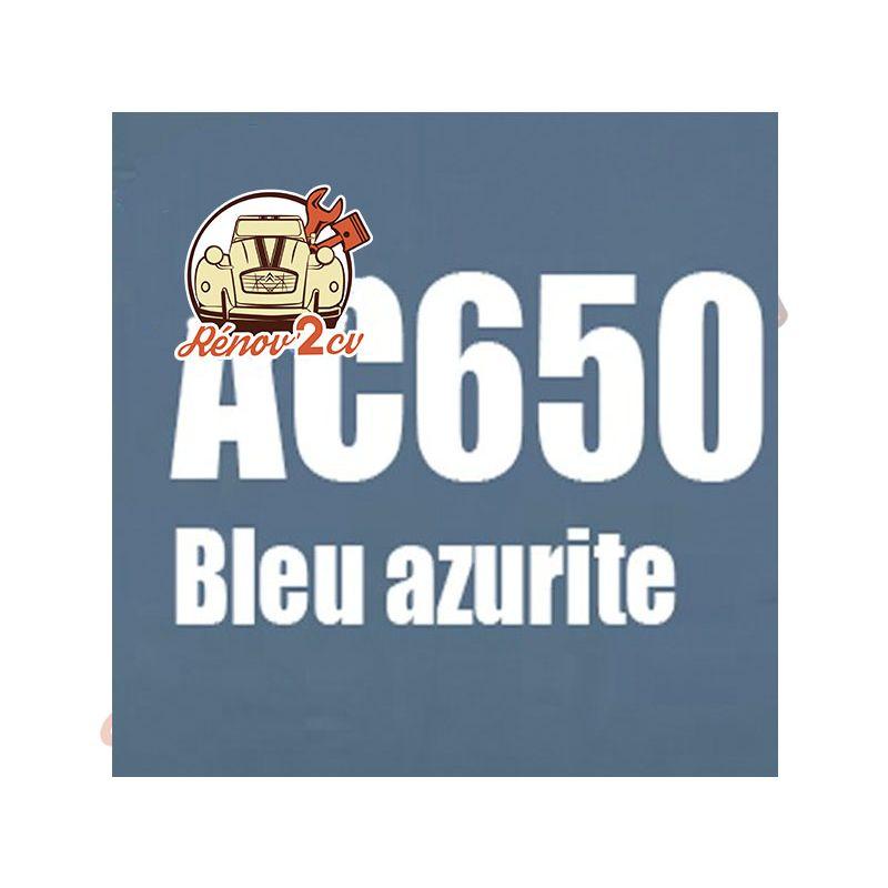 kit peinture 2cv ac bleu azurite ac 650 1.3 kilos