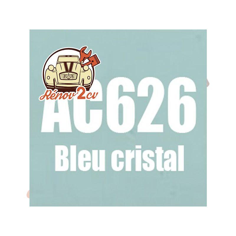 kit peinture 2cv ac bleu cristal ac 626 1.3 kilos